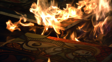 Paintings in Fire